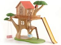 Calico Critters have tons of fun playing in the Calico