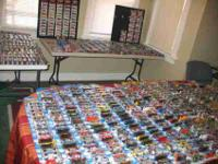 Huge 500+collection of packaged Hot Wheels. All types