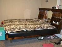 California King mattress headboard and frame 800 obo