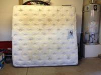 California King Mattress with Box Springs, (Sorry No