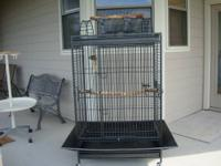 California parrot cage in excellent condition paid