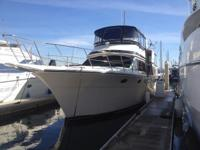 This 45' motor Yacht has been well maintained and is in