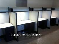 Re-furbished telephone call facility work areas, in