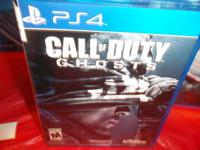 CALL OF DUTY VIDEO GAME  FOR PS4 IN GOOD CONDITION FOR