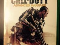 Call of Duty Advanced Warfare for Xbox One, in like-new