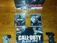 Very uncommon p_s_3 call of duty black ops very bundle