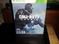 I have for sale my xbox 360 call of duty ghost hardened