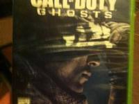 I have a next to brand new copy of call of duty ghosts