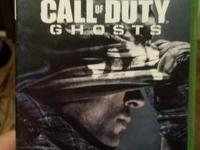 Selling a copy of Call of Duty: Ghosts for the Xbox 360