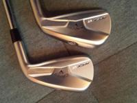 18* and 21*Apex UT irons both in mint condition. Stock