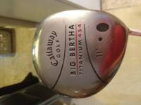 I have a Callaway Big Bertha 11 degrees. It still has