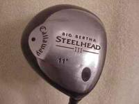 Offered for the ladies is this well kept Callaway Big