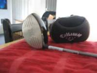I am selling my mens right handed Callaway Ft-9 Driver.