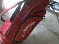 Callaway Golf stand bag. X series, terrafirmma. Very