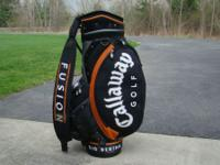 This is a close to perfect cart bag, used maybe a