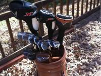 Very nice callaway driver, woods, irons, and wedges.