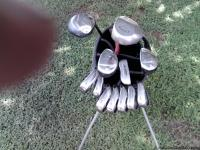 Just acquired a complete set of golf clubs including