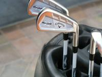 Callaway RAZR X Forged Irons Right Hand Golf Club set.