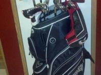 Have for sale Callaway Razr X bag, clubs, irons, socks