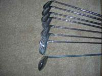These irons (2, 3, 5, 6, 8, 9, P) (Driver Big Bertha