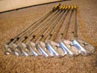 Callaway X Tour Forged Irons! 3- PW Dynamic gold s300