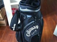 Very nice near new Callaway cart/staff bag. Used only