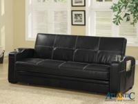 This casual modern couch bed will be a good addition to