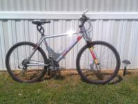 I am sellling my Caloi Racing mountain bike, the reason
