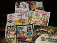 I am selling a Calvin and Hobbes book collection. The