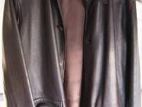 Calvin Klein And Arcadia Leather Jackets. The Arcadia