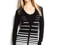 With standout stripes and alluring illusion accents,