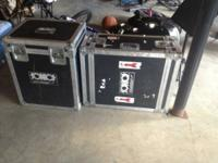 I have 2 secondhand Calzone Road Cases. They come with