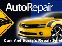 Dusty's Repair Service has Re-Opened With a new face on