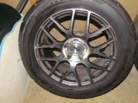 """(2) TSW Nurburgring """"Gunmetal"""" 18"""" Rims 2010 Camaro SS"""
