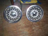 "I have set of (5),rims with a spear tire, 14""x7""wheels."