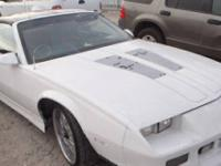Chevrolet Camaro model year 1987, has no title. Proof
