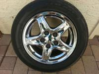 "I have a set of 4 like new 16""x8"" stock Camaro Rims & &"