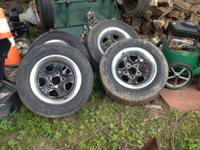 I have a set of 4 1980's camaro steel rally wheels with