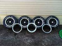 Camarro Z28 rally wheels with extra set of beauty