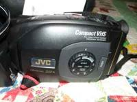 jvc hand held camcorder,carrying case,instruc.