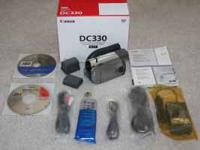 -> Canon DC330 DVD Camcorder with - 48x Advanced Zoom,