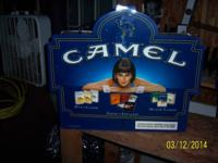 I have a vintage Hanging Camel Cigarette Advertisement