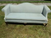 Camelback sofa Camelback sofa in excellent condition.