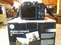 This camera is brand new.. The camera is a black