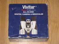 Vivitar Magna Cam-Binoculars $40. NEW in the box, never
