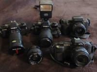 Cam Collection for sale Great Coondition Works