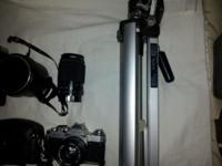 lots of camera stuff for sale if interested I will give
