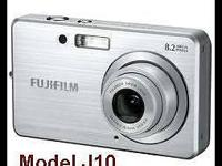 Camera-Fuji FinePix J10 with Charger & & 2 Electric