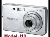 Camera-Fuji FinePix J10 with Charger & 2 Batteries.
