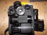 I am selling my electronic camera lenses. Asking $170